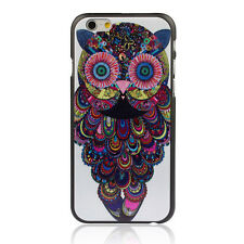Hot National Style Owl Hard Back Plastic Case Cover For iPhone 6 4.7 Inch лучай
