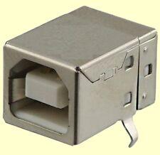 10 pcs. USB Buchse Typ: B  PCB Printversion liegend 90°  NEW  #BP
