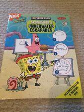 Watch Me Draw: Watch Me Draw SpongeBob's Underwater Escapades (2006, Paperback)