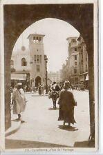 CP Maroc Morocco - Casablanca - Rue de l'Horloge