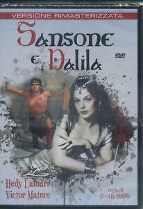 SANSONE E DALILA A&R Productions  Versione Rimasterizzata DVD NUOVO