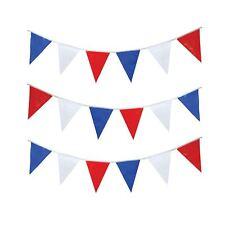 25m Boda Real Blanco Rojo Azul Gran Bretaña Decoración Banderín Guirnalda UNION