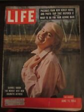 Life Magazine Carroll Baker The Movies Best New Dramatic Actress June 1956