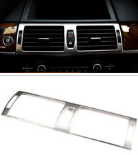 For BMW X5 E70 2008-2013 Steel Interior Middle Console Air Vent Outlet Trim 1pcs