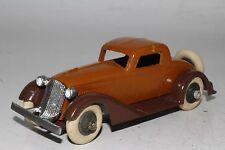Tootsietoy 1930's Graham Coupe, Orange & Black, Restored