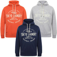 Tokyo Laundry Mens Portopalo Cove Hooded Sweatshirt Hoodie Hoody Top Sweater