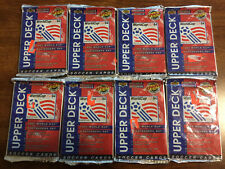 Lot of 8 Sets of Unopened Exclusive Upper Deck World Cup Usa 1994 Soccer Cards