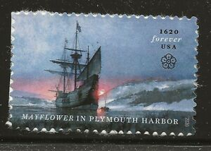 US Scott #5524, Single 2020 Mayflower VF MNH