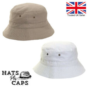 Bucket Hat Ripstop Cotton Lightweight Short Brim Travel Sun Hat