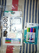 Techair Doodle Cover Universial for 7 inch Tablet + Extra Packet of Pens New