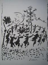 """PICASSO PABLO (1881-1973) LITHOGRAPHIE   """"VIVE LA PAIX"""""""