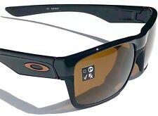 NEW* Oakley TWO FACE Black on Black w Dark Bronze Golf Sunglass 9189-03