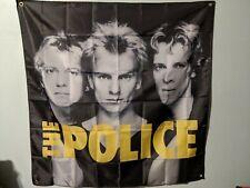 The Police Band Flag 4'x4'