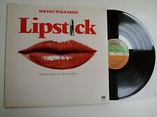 MICHEL POLNAREFF - LIPSTICK SOUNDTRACK LP N MINT VINYL Rare 1976 OST UK Album