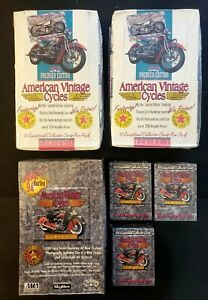 1992 & 1993 Champs - American Vintage Cycles Factory Sealed Wax Boxes & Sets!