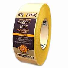 NEW:Original Carpet & Tiles Tape 90ft Roll, For Rugs, Mats, Pads, Runners Anti