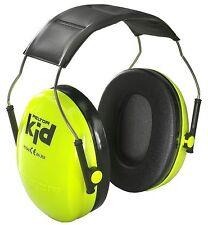 New! Acoustic Earmuffs 3M Peltor Kid Neon-Green Ear Muffs Kids