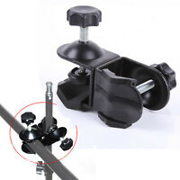 Dual Double U Clip Clamp f Photo Studio Camera Video Lighting light Stand tripod