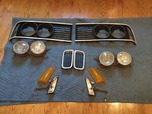 BMW E23 733i 735i 745i Headlights Grills Kidney Blinkers 1976-1983