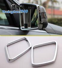 Chrome Side Mirror frame trim rims Mercedes Benz W164 ML X164 GL-Class 2011 2012