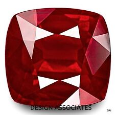 7 MM RUBY SQUARE CUSHION CUT NATURAL GEMSTONE AAA