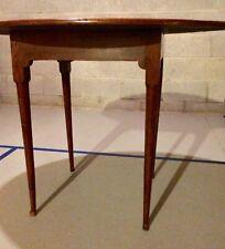 18th Century Queen Anne Rhode Island Tiger maple Tavern Table