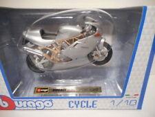 Véhicules miniatures sous boîte fermée pour Ducati 1:18