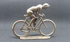 ciclista de bronce, tamaño real MANEL SOTORRES