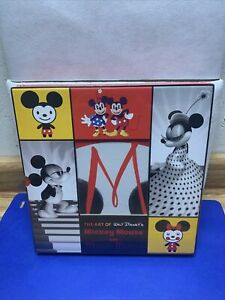 The Art of Walt Disney's Mickey Mouse and Minnie Mouse D23 Fan Club 2 Book Set