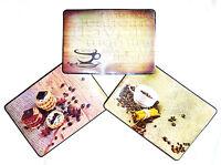 6 Stück Tischset / Platzset / Platzdeckchen / Kaffee / abwaschbar / Platzmatte