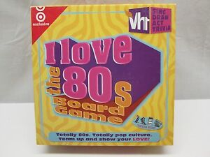 VH1 I Love The 80's Board Game - Sing, Draw, & Act Trivia - 2005