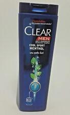 CLEAR men anti dandruff bio nutrient 10 sport menthol cool mint nourish shampoo.
