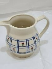 More details for rare hartstone usa jug 1l floral pattern pottery
