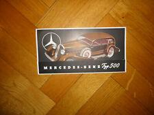 Original Mercedes Benz Typ 500