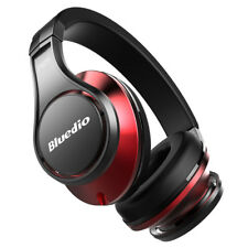 BLUEDIO UFO Bluetooth 4.1 Wireless Headphone Headset 8 Sound Tracks 3D BLK-R