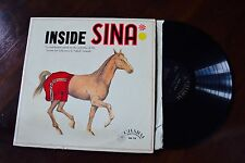 Inside Sina Animal Horse Comedy Rare Obscure Charm cm110  Record lp VG++
