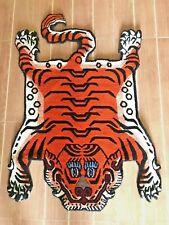 Tibetan small tiger skin rug
