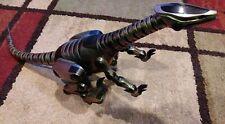 "WowWee 28"" Roboreptile Animated Robotic Robot Dinosaur Reptile Metallic Green"
