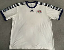 NYRB NEW YORK RED BULLS ADIDAS MLS RBNY T-SHIRT MENS LARGE