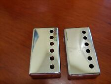Gibson Duncan Dimarzio chrome pickup covers new never used