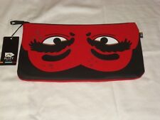 "Rusty Surf  ""Vampire"" Red School Zippered Pencil case cosmetic wallet RRP$17.99"