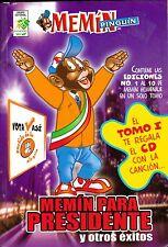 MEMIN PARA PRESIDENTE, TOMO 1 + MEMIN PINGUIN CD, KALIMAN, CONDORITO, MEXICO