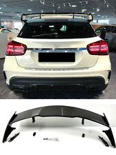 Für Mercedes Benz GLA X156 LOOK SPOILER HECKSPOILER IN SCHWARZ HOCHGLANZ 13-18