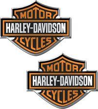 Harley Davidson Domed Emblem Logo Decal Motorcycle Chroma 5507 Sticker Car Truck