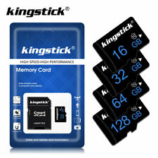 Micro SD TF Card Flash Memory Chip 4GB to 64GB High Speed Class 6/10 Memory Card