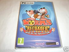 PC Game Worms Reloaded Game of the Year Edition Brand New Sealed