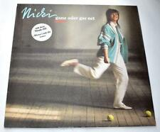 Nicki  ganz oder gar net 1986 Picobello 207714630 German Import Pop Vinyl LP VG+