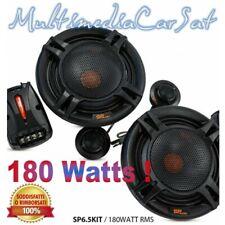 SP Audio Kit Altoparlanti 2 Vie 180 Watts RMS 360 W Max Woofer Tweeter SP6.5KIT