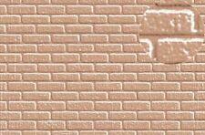Slaters Embossed Plastikard NO.0406 1:43 Brick Grey