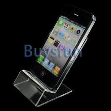 Clear Acrylic Stand Mount Holder for iPhone 4 4s 3gs iPod Touch Cell Phone